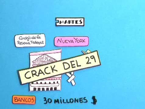El crack del 29 es un hito de la historia del siglo XX. Supuso el fin de los llamados 'felices años 20' y el inicio de la 'gran depresión' de los años 30, a cuyo final estallaría la Segunda Guerra Mundial.
