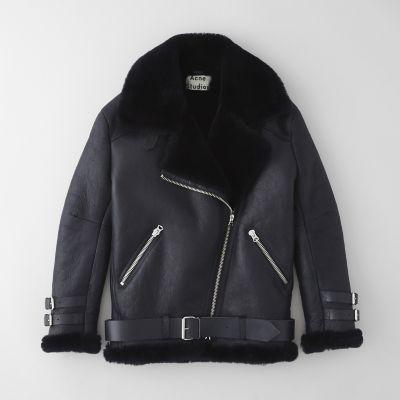 For Her: Acne Studios Velocite Shearling Jacket | Steven Alan