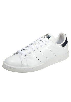 STAN SMITH - Sneakers - core white/dark blue