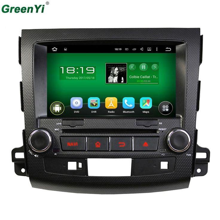 Quad Core 1024*600 Android 5.1.1 For Mitsubishi OUTLANDER 2006 2007 2008 2009 2010 2011 2012 Car DVD Player GPS Navigation Radio