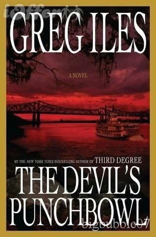 The Devil's Punchbowl ~ Greg IlesWorth Reading, Penne Cages,  Dust Jackets, Mississippi Author, Book Worth, Deviled Punchbowlbook, Greg Ile,  Dust Covers,  Dust Wrappers