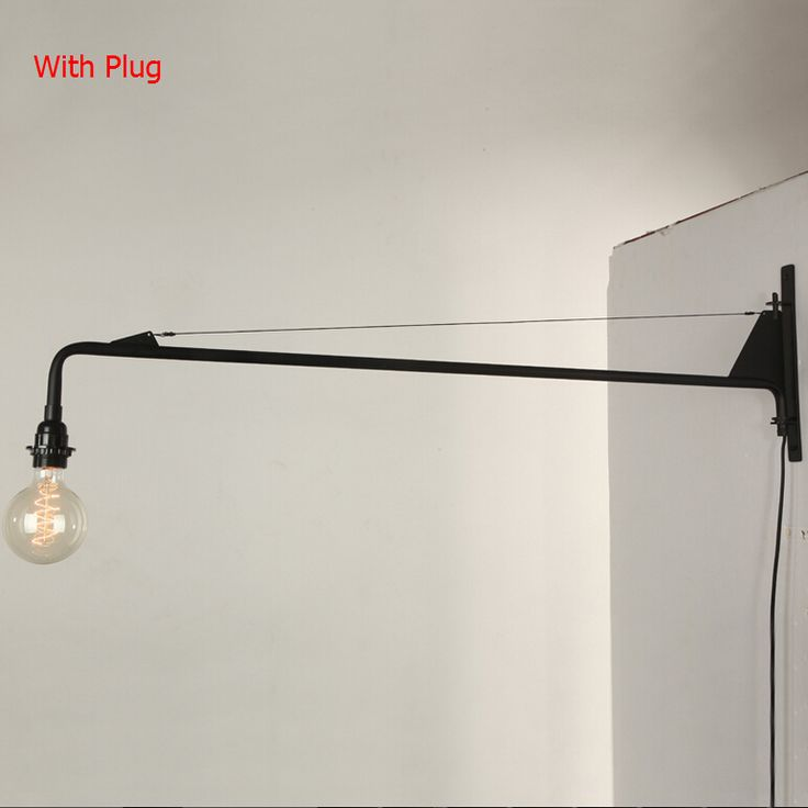 Cheap fixture fluorescent lighting, Buy Quality light fixture cover replacement directly from China light fixture diffusers Suppliers:  [Item]:Vintage American Country Led Wall Lamp Loft Potence Wall Light Long Arm Sconce Bedroom Bedside Light Fixtu