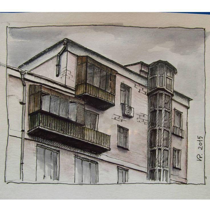 «#urbansketch #penandink #draw #drawing #рисую #городскиезарисовки #городскойскетч #sketchcollector #onesketchaday»