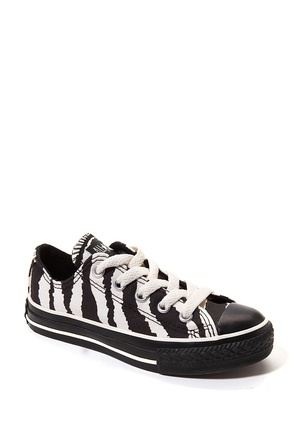 Zebra Shoes by Converse