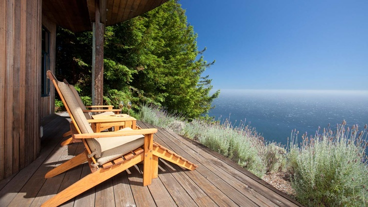 The Upper Coast House at the Post Ranch Inn in Big Sur. Peace on a stick.