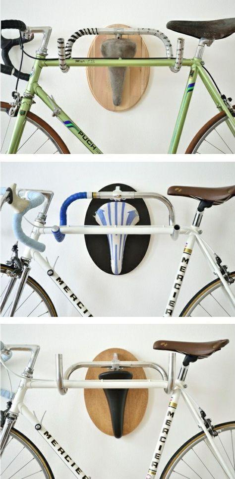 diy ideen fahrrad ständer bastelideen