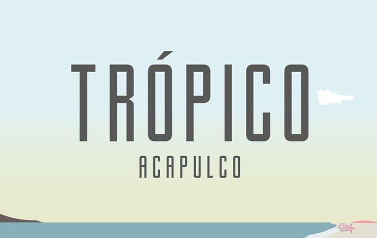El próximo 8, 9 y 10 de diciembre se realizará el Festival Trópico 2017, teniendo nuevamente como sede las playas de Acapulco Guerrero. La quinta edición #Electrónica #Acapulco @Tropicomx  #Trópico2017