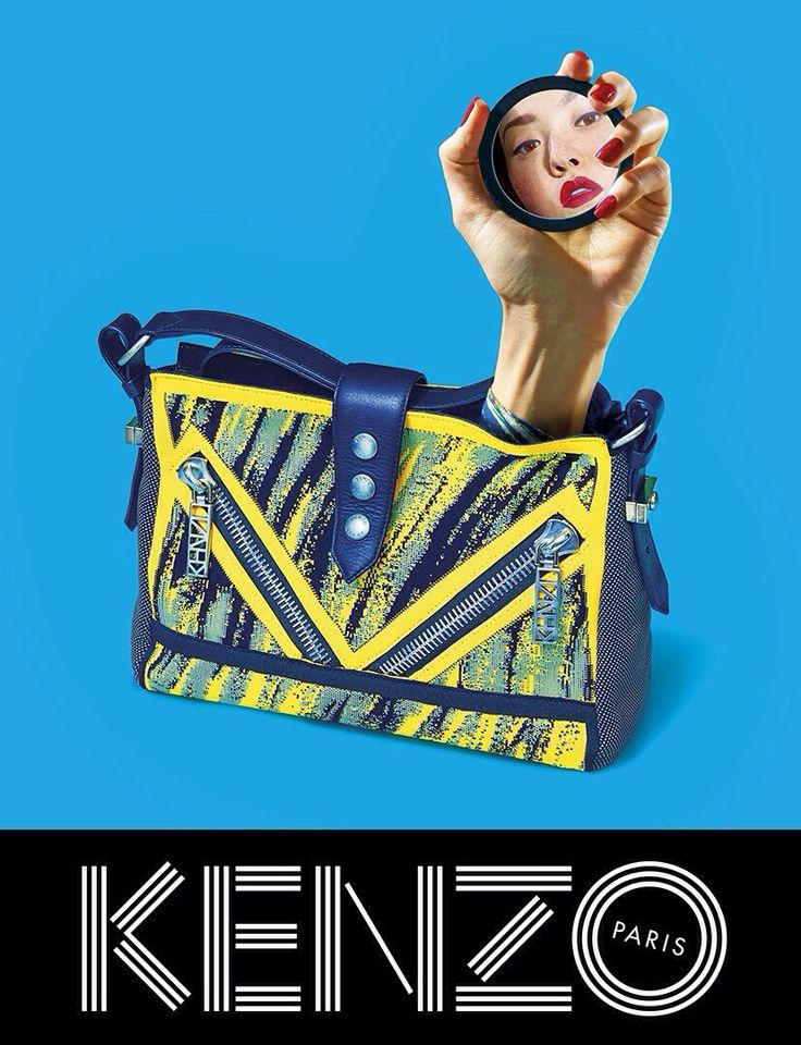 Devon Aoki for Kenzo Spring Summer 2014 Ad Campaign