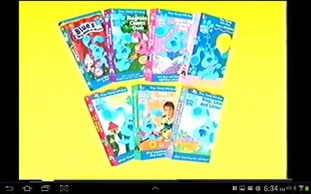 Blues Clues Vhs Blue S Clues Vhs Pinterest Blues Clues