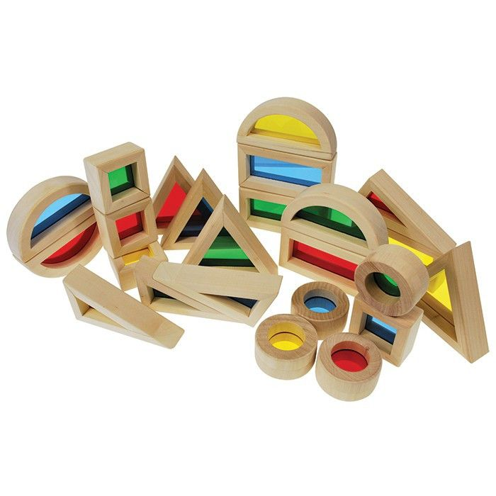 Rainbow Blocks set of 24 – Notes From a Home Educator
