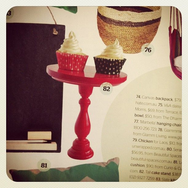 Thanks emeraldandella for this lovely Instagram of the Summer Entertaining issue for 2012 (and thanks for letting us use your beautiful products, too)!
