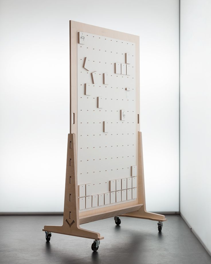 Divide_pegboard by Josh Worley for http://opendesk.cc