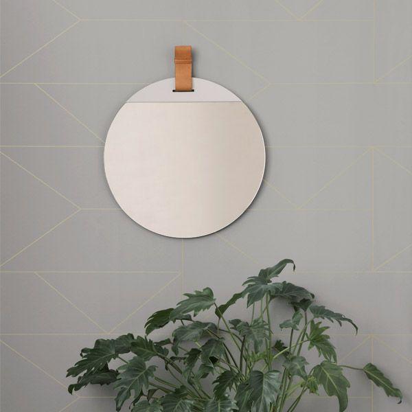 Ferm Living Enter mirror, small | Mirrors | Decoration | Finnish Design Shop