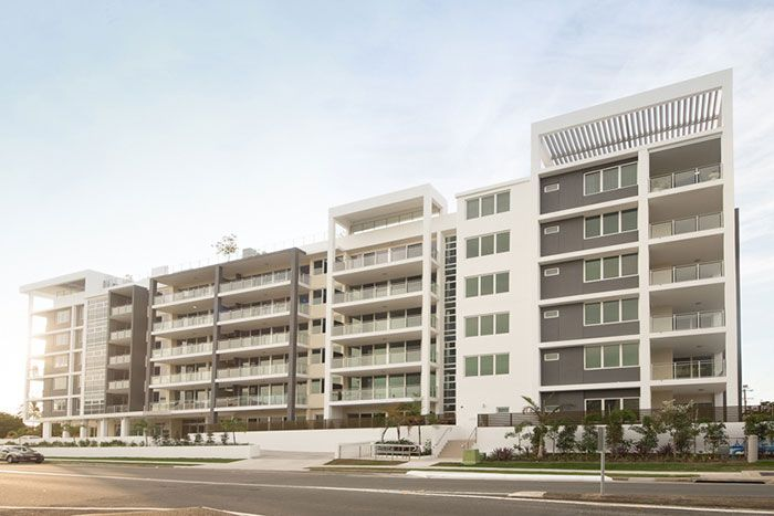 Serene on Tweed (2010, Marchese Partners) Site Area: 3000m2, 8500m2 GFA Size: 77 apartments Cost: est $20m The site is ideally situated across the road from the Tweed Heads bowling club and the Tweed Hospital and is within walking distance of local shopping centres, medical centres, entertainment, the Tweed River, and beaches. The project will offer more than 50 services and facilities, including a media room, well-being centre, library, cinema, pools, spas, gym, basement parking