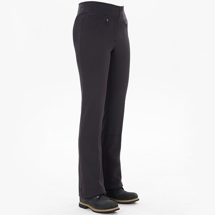 $315 The Fera Alicia Ski pant 2017 is a super-comfortable 4-way stretch womens ski pant, blending high-performance fabric with a body-hugging fit. Look your absolute best no matter what the conditions with the brand that pioneered stretch pants.  Alicia brings back glam with a modern update of the classic 4-way stretch