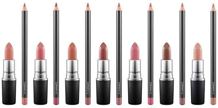 MAC Lipstick & Lip Pencil Duos for Spring 2017