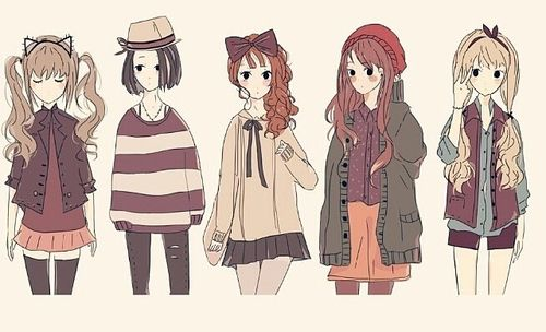 Pin By Hanna Smulz On Cute Anime Girl Outfits
