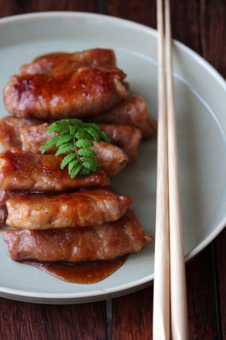 筍肉巻きのオイスター照り焼き。 by 栁川かおり | レシピサイト「Nadia | ナディア」プロの料理を無料で検索
