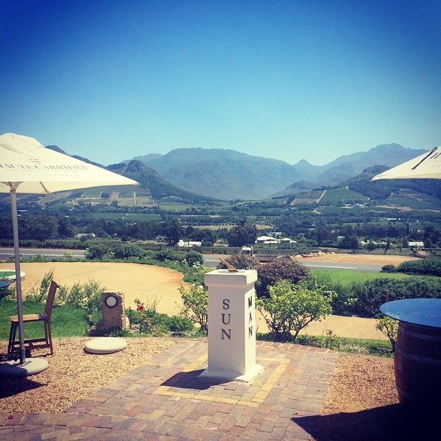 The 25 best small towns in South Africa   SAvisas.com - Franschhoek   Haute Cabrière wine farm.