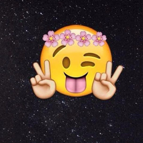 photos, yesss, emoji wallpaper, emoji background - image #2747861 ...