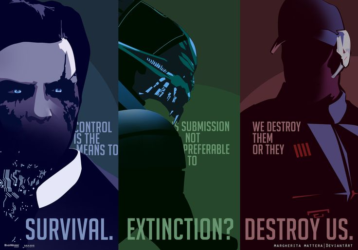 Mass Effect 3 ending by MargheritaMattera.deviantart.com on @deviantART