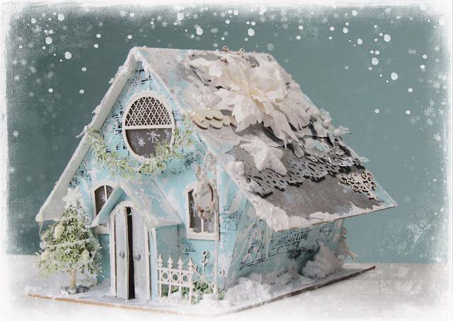 #scrapiniec #domek #zima #zimowydomek #chatka #winter #christmas #święta