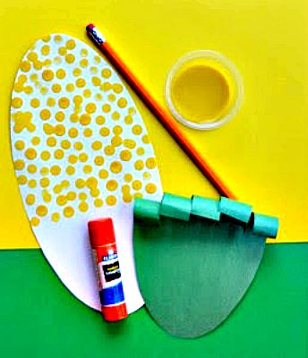 Easy sweet corn craft for kids!