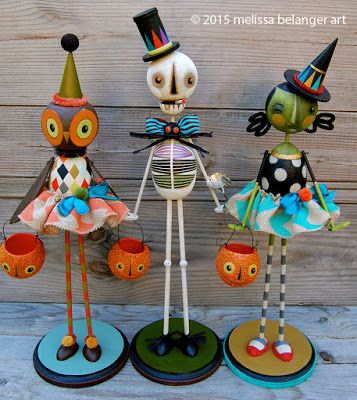 These 3 figures will be heading to Ghoultide Gathering very soon!