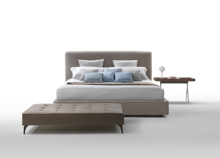 Wu Bed made in Italy by Marac. Available exclusively at Sarsfield Brooke Ltd.