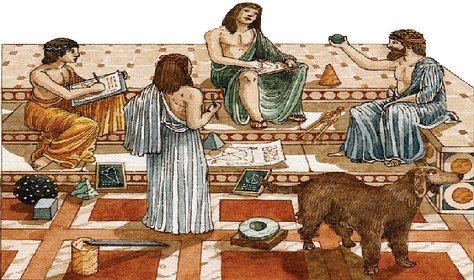 Se denomina escuela de Mileto o Jónica a la fundada en el siglo VI a. C. en la colonia griega de Mileto, en la costa egea de Jonia. Sus miembros fueron Tales de Mileto, Anaximandro y Anaxímenes.