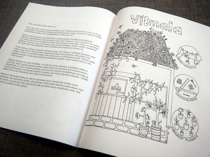 18 tarinaa ja värityskuvaa Utin kiehtovast maailmasta.