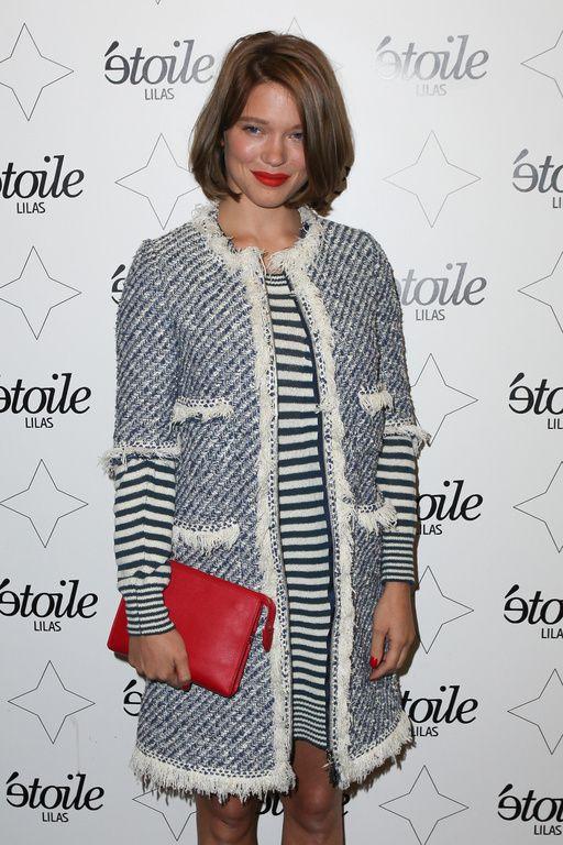 Léa Seydoux a fait mouche hier soir sur le red carpet de la première parisienne du film