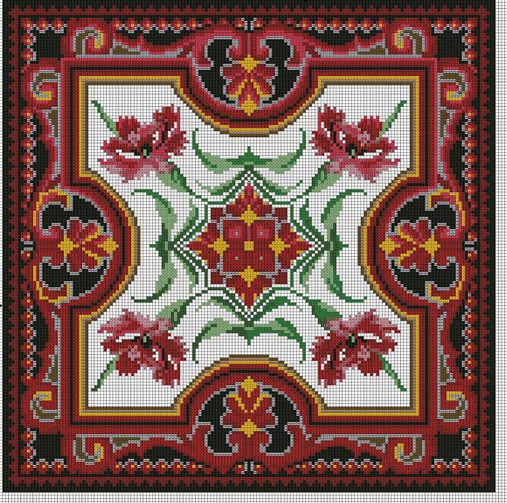 Gallery.ru / Фото #3 - Вышивки моей мамы (и схемы к ним) - livadika