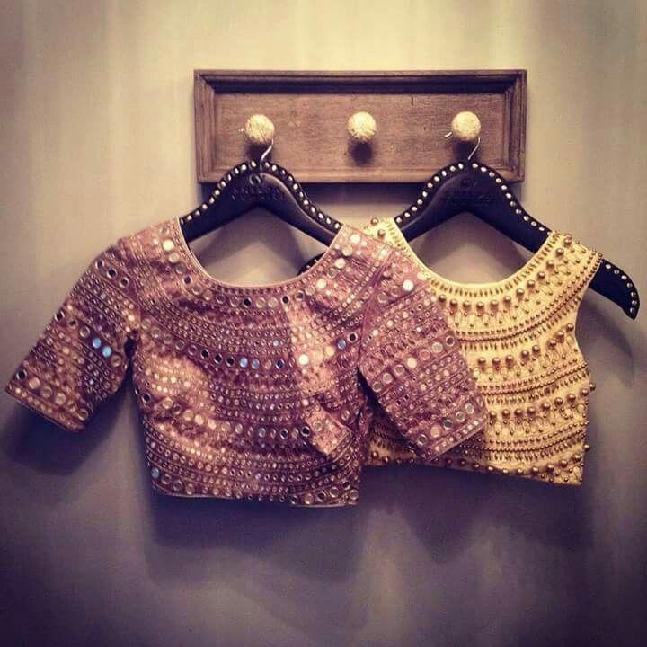 Choli Style blouse