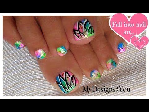 Easy Valentine's Day Nail Art | Cute Heart French Tip Nails ♥ Дизайн Ногтей Ко Дню Влюбленных - YouTube