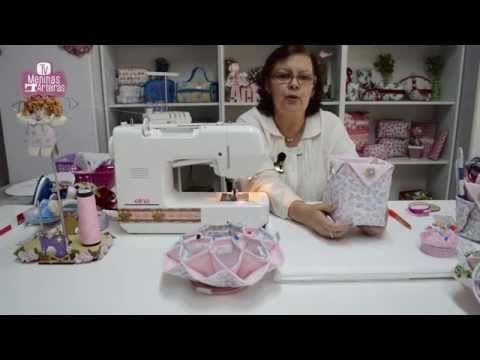 Necessaire com Ziper Na frente - Yara Gonçalves - YouTube