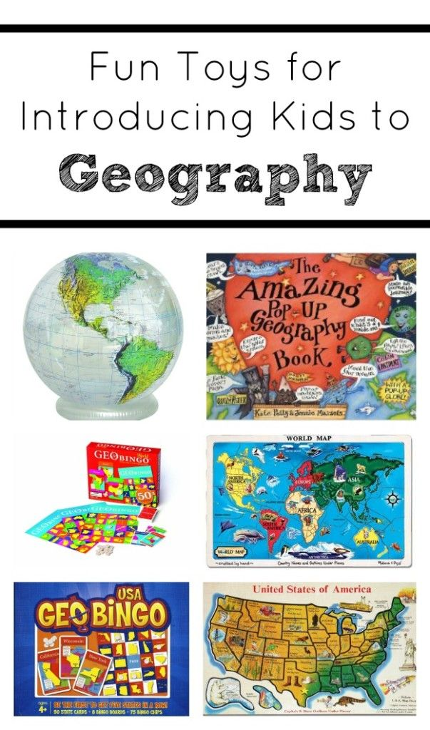 Geography for Kids-Our favorite toys for introducing kids to geography