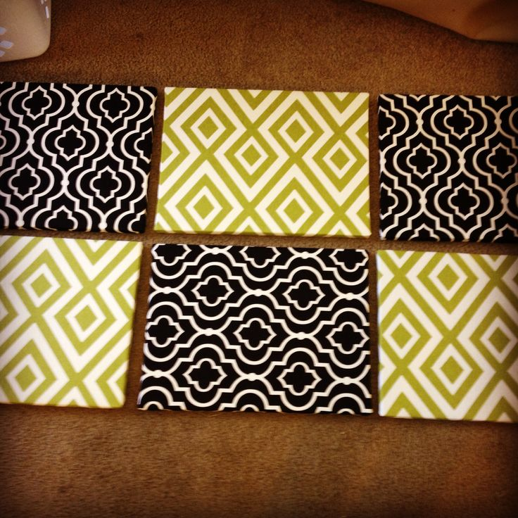 Canvas + fabric = DIY wall decor | Can't wait to make these for my dorm room