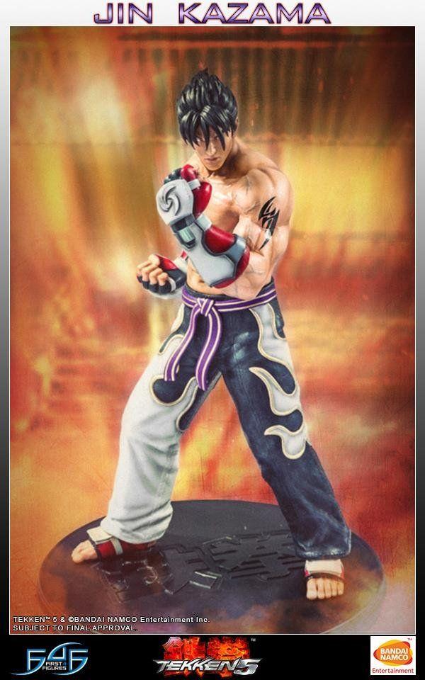 First 4 Figures - Tekken 5 - Jin Kazama