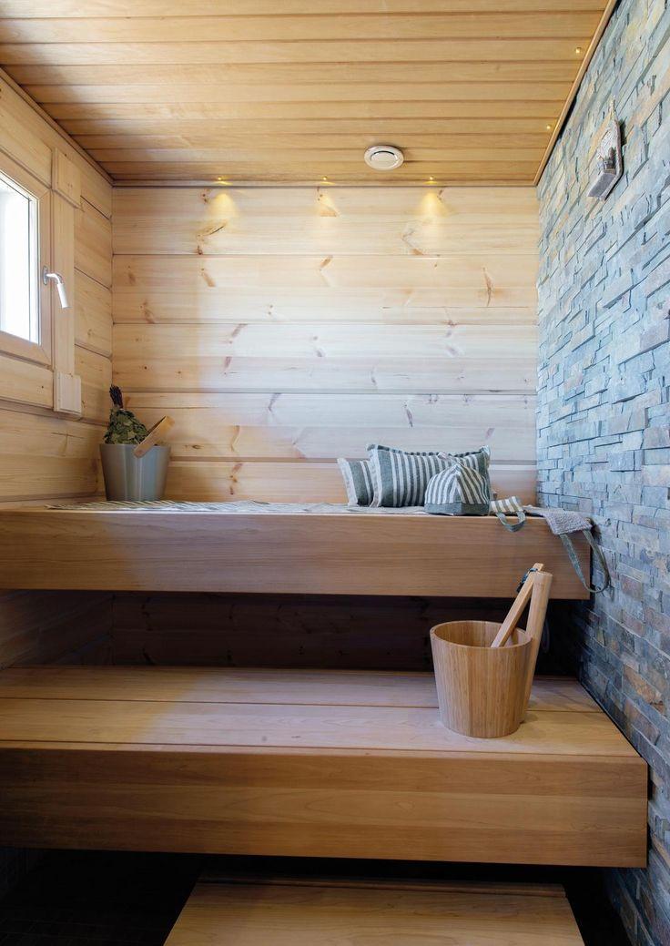 Loma-asuntomessuilta voi napata mukaansa monenlaisia sisustuksellisia ideoita oman kodin pintoihin tai vaikka saunan lauteisiin.