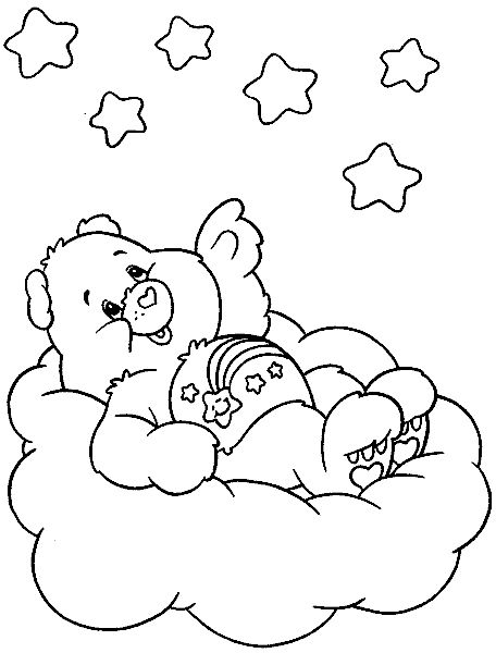 wish bear coloring pages - photo#9