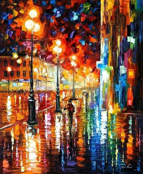 Leonid Afremov. Would love to have this painting.