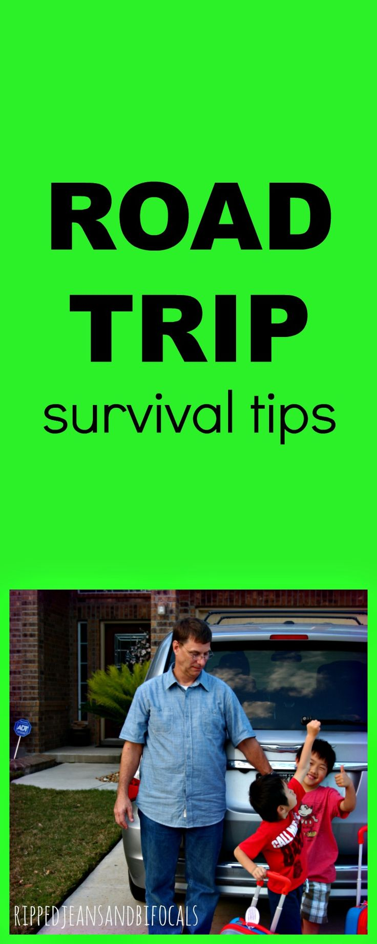 Road Trip Survival Tips|Ripped Jeans and Bifocals
