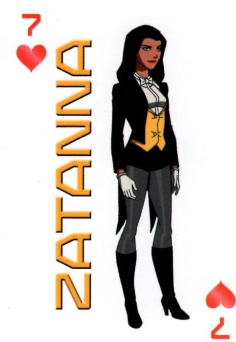 Zatanna young justice costume
