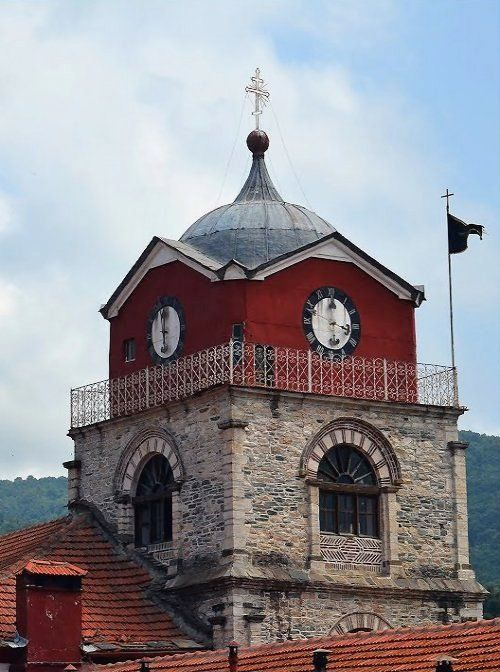 Esphigmenou Monastery, Mount Athos, Greece | by Stankovic Milomir
