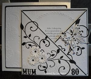 80TH BIRTHDAY CARD by: carolynshellard