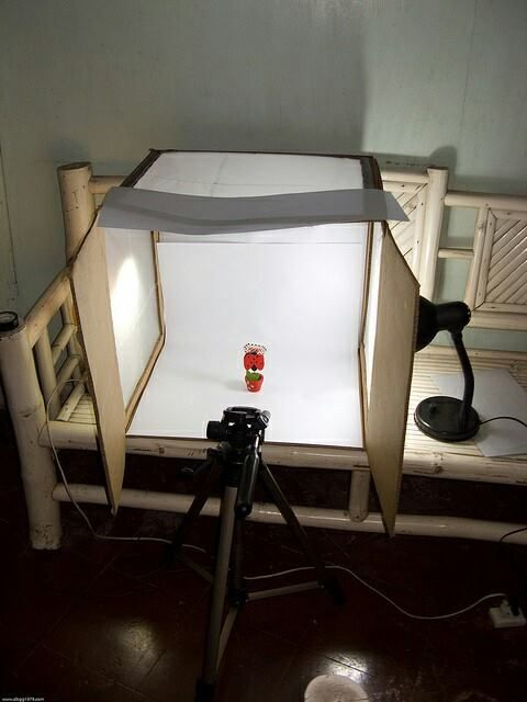 Pencahayaan Memotret Produk Dengan Lampu Belajar