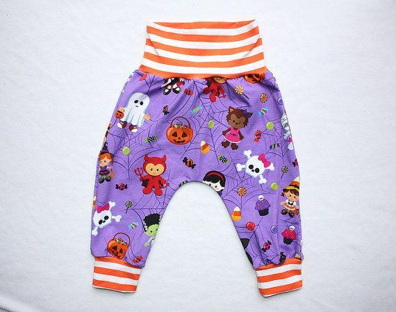 Baby Boy Harem Pants 6-12 months Baby Girl Harem Pants Toddler Boy Halloween outfit Baby Girl Halloween Outfit Infant Halloween Outfit