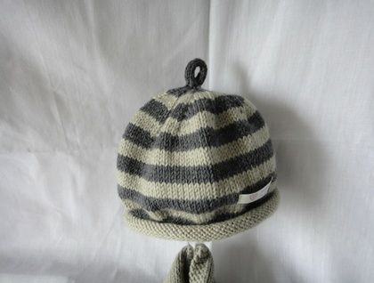 Baby Boy  Striped Beanie