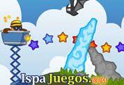 Juego de Cart Master | JUEGOS GRATIS: Ayuda a este minero a acumular varias estrellas con su carrito, con el mouse dirigiéndolo a las estrellas pero ten cuidado de murciélagos y otros obstaculos que encontraras en el camino.
